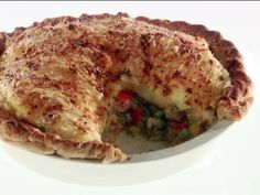 Thankful Shepherd's Pie -- Easy way to get rid of all the leftovers once and for all.