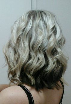 My short curled hair:)3 colors.
