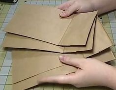How to assemble a paper bag albumYou can find Paper bag album and more on our website.How to assemble a paper bag album Paper Bag Books, Diy Paper Bag, How To Make A Paper Bag, Paper Bag Crafts, Paper Bag Album, Paper Bags, Mini Albums, Mini Photo Albums, Paper Bag Scrapbook