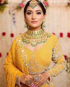Bridal Jewellery Inspiration, Jewelry Trends, South Indian Bridal Jewellery, Wedding Jewelry, Yellow Lehenga, Latest Jewellery, Bridal Sets, Bridal Looks, Wedding Blog
