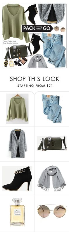 """""""Pack and Go"""" by oshint ❤ liked on Polyvore featuring Dickies, Vero Moda, Chanel and Gucci"""