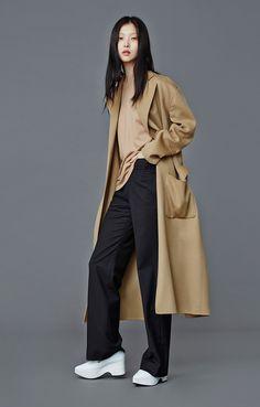 ღlechic | Low Classic F/W 14 Camel Handmade Long Wrap Coats