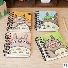 """Cadernetas """"Meu vizinho Totoro"""""""