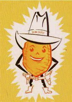 Slim Chiply...Flint, Michigan's own. Best salt & vinager potato chips ever! If you remember the jingle, you WERE in Flint during the 80's