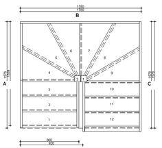 ES3W3W33N R/H Stair Plan No Handrail