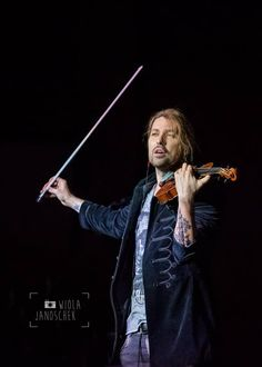 David Garrett  concierto en el Queen Mary2 Stars at sea 2017 Foto: Wiola Janoschek - Merida Fotografie