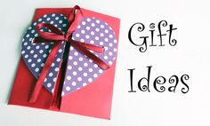 DIY-Envelope Paper heart card Gift || Make for Boyfriend/Girlfriend