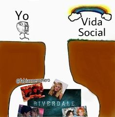 Read Vida social from the story Memes De Riverdale by fabyvrl (Fabi) with reads. Memes Riverdale, Watch Riverdale, Riverdale Funny, Riverdale Cast, Riverdale Betty And Jughead, I Dont Fit In, Zack E Cody, Riverdale Cheryl, Riverdale Cole Sprouse