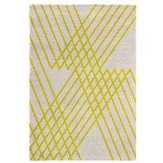Dywan Chiffon 160x230 cm, żółty