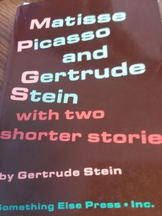 Matisse Picasso and Gertrude Stein (AKA G M P); Many Many Women & A Long Gay Book: Stein, Gertrude: 0884275785608: Amazon.com: Books Family Betrayal, Best Biographies, Best Comments, Book Club Books, Matisse, Picasso, Gay, Amazon, Things To Sell