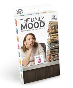 This The Daily Mood Desk Flipchart is perfect! #zulilyfinds