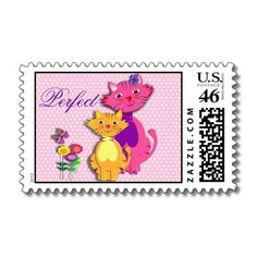 Cute Little Pussy Cats Perfect US Poatal Stamps