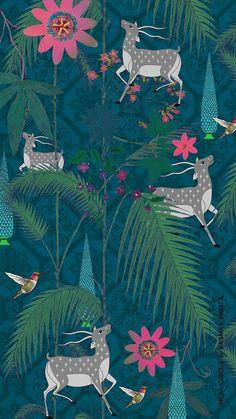 Pichwai Paintings, Mughal Paintings, Indian Art Paintings, Tribal Art, Geometric Art, Indian Illustration, Whatsapp Wallpaper, Animal Wallpaper, Wallpaper Ideas