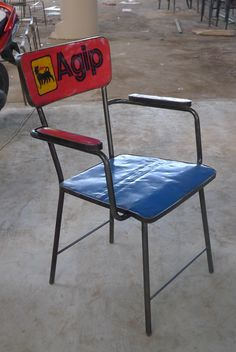 Dinning Chair Recycle Oil Drum