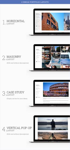 Magpie – Horizontal and Clean Photography WordPress Theme