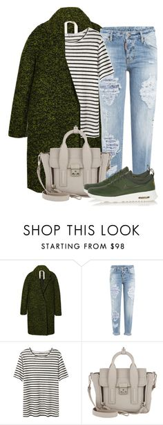 """""""Без названия #3586"""" by alexandragoga ❤ liked on Polyvore featuring N°21, Dsquared2, T By Alexander Wang, 3.1 Phillip Lim and NIKE"""