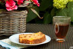 Carolines blog: Cake met verse mango.