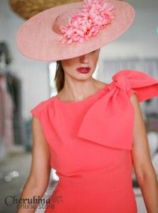 Vestido Texas coral de Cherubina