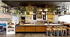 View the full picture gallery of Flocafé Espresso Room Coffee Shop Design, Cafe Design, Restaurant Design, Restaurant Bar, Cozy Furniture, Industrial Restaurant, Tap Room, Room Pictures, Cafe Bar