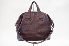 Givenchy Nightingale Bag in Dark Purple Leather - Sold Out