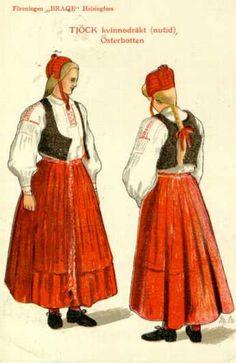 Folkdräkt - För Alltid Svensk~ Forever Swedish Em, this is cool. Sweden Costume, Folk Costume, Costumes, St Lucia Day, Swedish Girls, Scandinavian Countries, Russian Folk, Snow Queen, My Heritage