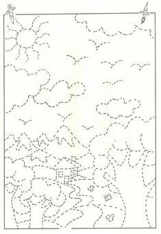 Grafomotoryka, czyli najprościej mówiąc umiejętność rysowania i pisania. Precyzyjne wykonywanie tych czynności związane jest z zakończeniem procesów anatomiczn