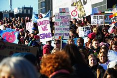 People Around the World Made Truly Brilliant Signs for the Women's Marches