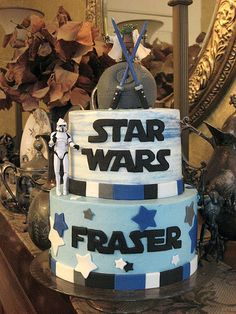 Star Wars Birthday Cake by drakegore, via Flickr