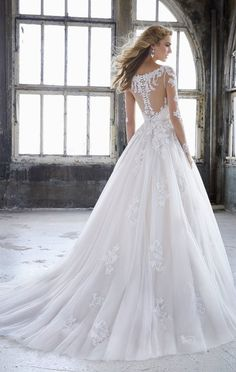 Courtesy of Morilee Wedding Dresses; www.morilee.com; Wedding dress idea.