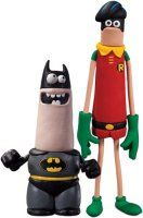 Aardman Batman and Robin (Classic) Action Figure 2 Pack - £34.99 : Forbidden Planet International, Your Online Entertainment Superstore for Star Wars, Doctor Who, Star Trek and more