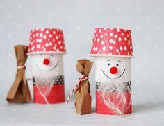 Letztes Jahr haben wir einen süßen Schneemann aus einer Toilettenpapierrolle gebastelt, das ging schnell und war eine tolle Geschenkidee für die Großeltern zu Weihnachten. Die…