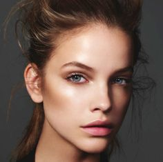 Earthy Tone Color Makeup  Barbara Palvin in Harper's Bazaar U.K. September 2012