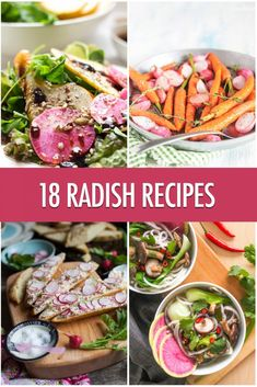Radish Recipes, Vegetable Recipes, Recipes With Radishes, Radish Ideas, Crispy Smashed Potatoes, Cooking Recipes, Healthy Recipes, Cooking Videos, Easy Recipes