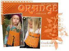 Πορτοκαλί πλέκω Tank κορσές ΔΩΡΕΑΝ πρότυπο για τα παιδιά | My Little CityGirl