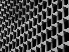early modern concrete facades
