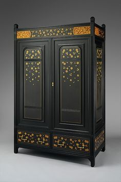 1880-1885 American (New York) Wardrobe at the Metropolitan Museum of Art, New York