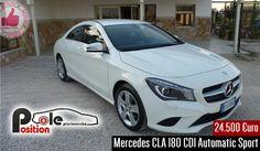 Mercedes CLA 180 CDI Automatic Sport Da Pole Position http://affariok.blogspot.it/
