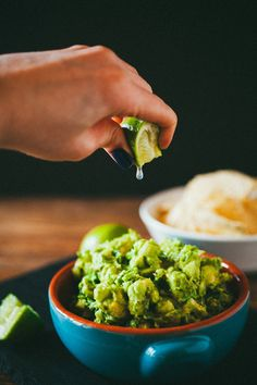 ***The Guacamole--the easiest!!