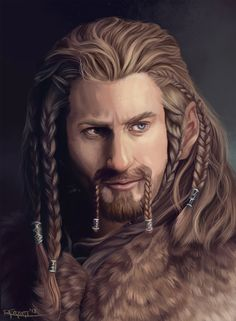 Fili- Heir of Durin by *RachelleFryatt on deviantART (I'm really starting to envy some of these people's artistic talent).