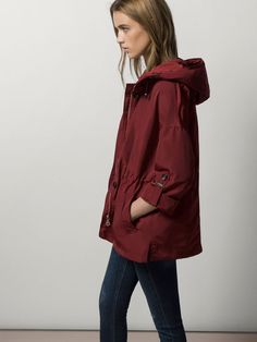 Women's coat & jacket collection at Massimo Dutti on sale this Winter.  Long, wool, fur, waterfall, cape and parka coats & jackets sale to reinvent  your ...