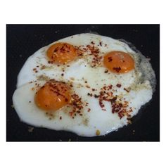 Sunny Side Up and A Dash of Chilli Flakes