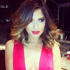 short red ombre - Google Search