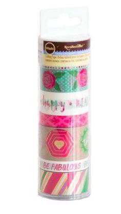 Tubo washi medio Marca RecollectioEste produto você encontra nas lojas Bala Mental,entre em contato conosco em nossa fan page: