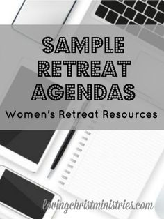 Creating retreat agendas for women's ministry and retreats doesn't always come easy. Use our actual agendas as templates for your own and save time! Women's Retreat, Retreat Ideas, Health Retreat, Conference Agenda, Christian Women's Ministry, Christian Retreat, Youth Ministry, Ministry Ideas, Christian Resources