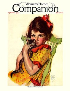 Woman's Home Companion, September 1927. Maud Tousey Fangel
