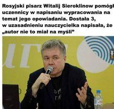 Very Funny Memes, Wtf Funny, Funny Jokes, Hilarious, Avatar Ang, Polish Memes, Weekend Humor, Hetalia Funny, Daily Funny