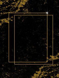 Beautiful Simple Light Effect Black Gold Leaf Business Generous Background Rose Flower Wallpaper, Wallpaper Nature Flowers, Flower Background Wallpaper, Gold Wallpaper, Flower Backgrounds, Lights Background, Paper Background, Black Backgrounds, Background Images