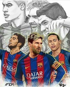 Los cracks del FC   BARCELONA