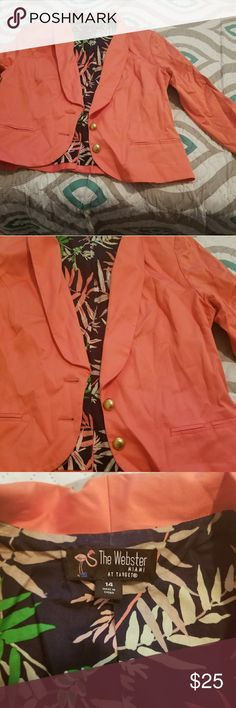 Coral blazer Only worn once excellent condition target Jackets & Coats Blazers