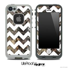 Camo Chevron Print Skin for the iPhone 4/4s or 5 by TheSkinDudes, $9.99
